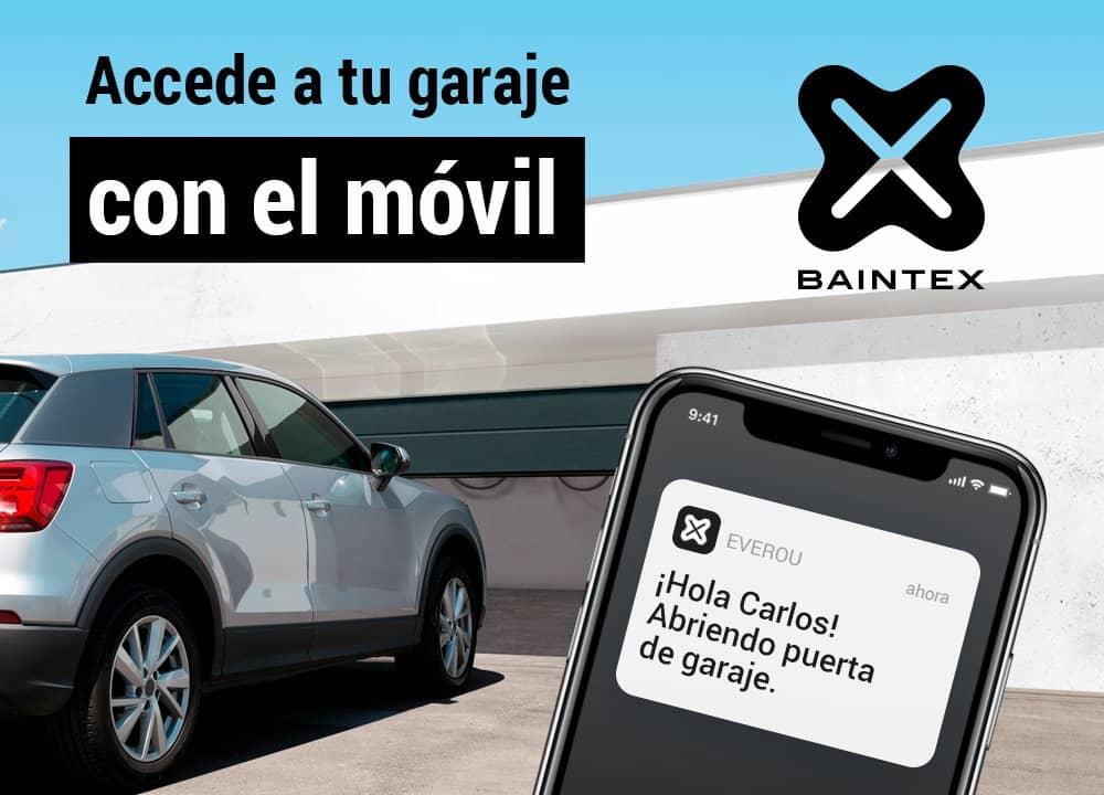 Easy Parking. Apertura automática del garaje con el móvil