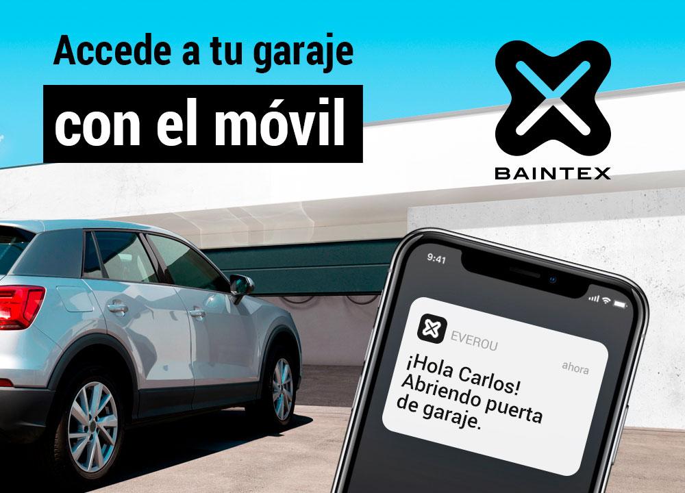 Apertura automática del garaje con Easy Parking