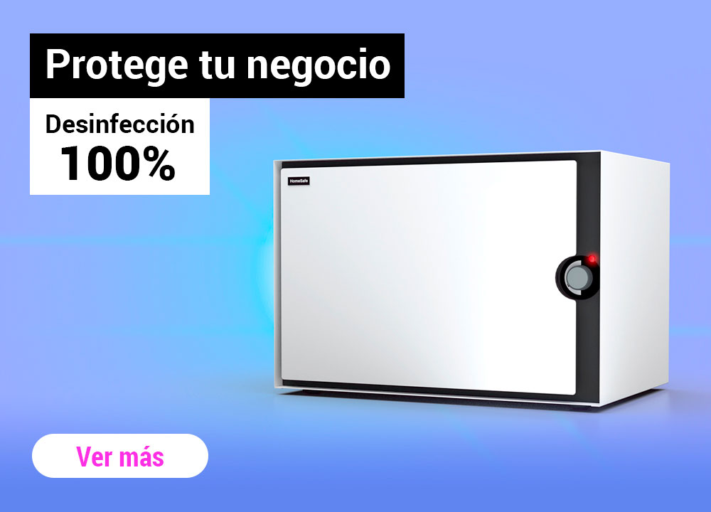 Desinfección con UV Homesafe